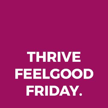 Join us for THRIVE FeelGood Friday - Paul 'Stalkie' Stalker