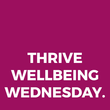 Join us for THRIVE Wellbeing Wednesday - Paul 'Stalkie' Stalker